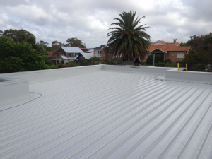 metal roof replacement before Colorbond Roofs for Australian Homes
