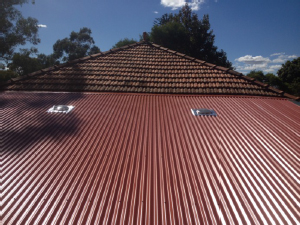 metal roof after Colorbond Roofs for Australian Homes