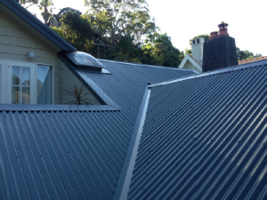 metal roof before Colorbond Roofs for Australian Homes