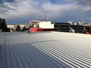 Homebush Bay Commercial Roof