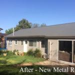 New metal roof in Pymbol.