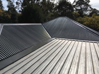 A new, steel roof.